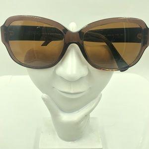 Coach HC8036 Brown Oval Sunglasses Frames